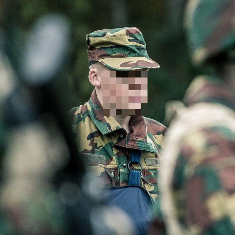 Een 22-jarige volgeling van het Vlaams Legioen die nog maar net militair is geworden Beeld Instagram