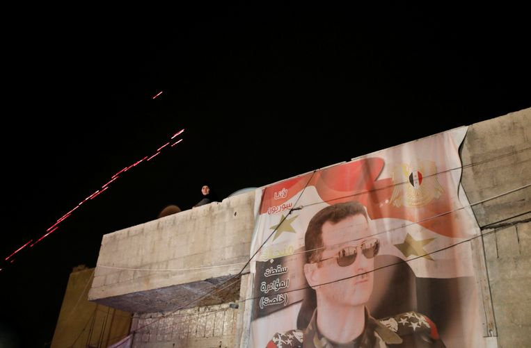 De Syrische president Bashar al Assad. Beeld REUTERS
