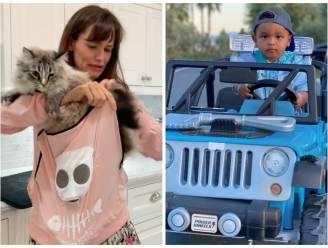 CELEBS 24/7. Jennifer Garner liet zich verleiden door reclame en wie is die stoere jongen in de auto?