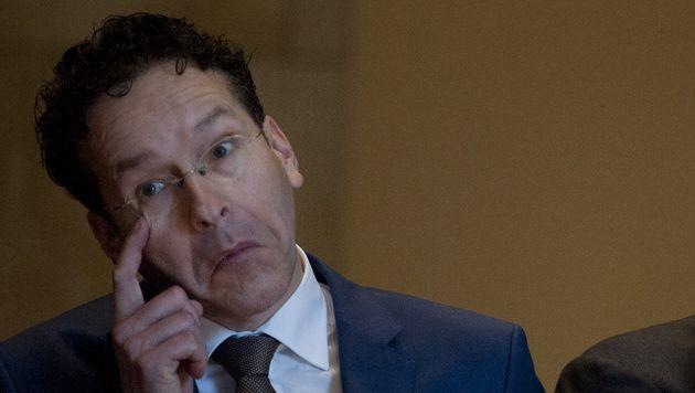 Minister Jeroen Dijsselbloem van Financiën