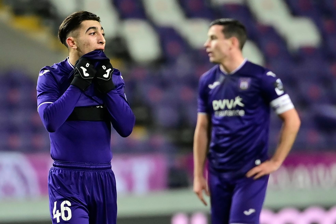 Marqué pas de chance pour Anouar Ait El Hadj qui attend toujours le premier but de sa carrière professionnelle et qui a touché les montants à deux reprises vendredi.