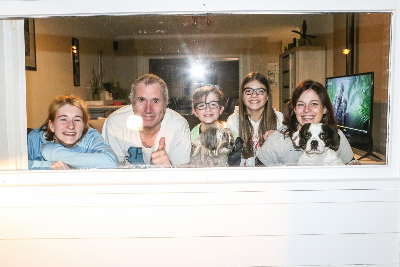 La famille De Prest de Roelers (Flandre-Occidentale) en quarantaine.