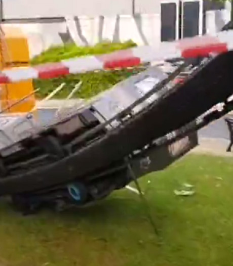 Gewonden door ongeval met treintje in Italiaans pretpark