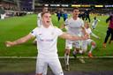 Leandro Trossard en fête après le nul contre Anderlecht