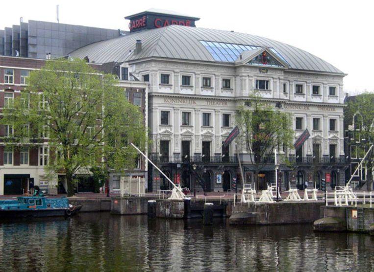 Theater Carré in Amsterdam. Muzikale daklozen spelen hier op 8 juni op het Majoor Bosshardt Gala. (Foto: GPD/Roland de Bruin) Beeld