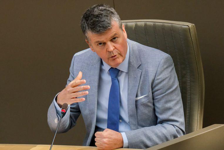 Vlaams minister van Samenleven Bart Somers (Open Vld).  Beeld BELGA