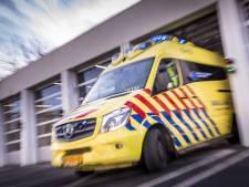 Automobilist crasht op A27 tussen Eemnes en Laren en raakt gewond