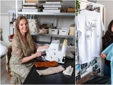 Simone en Nienke begonnen tijdens corona hun eigen kledingbedrijf: 'Ik heb ook mijn moeder en oma aan het werk gezet