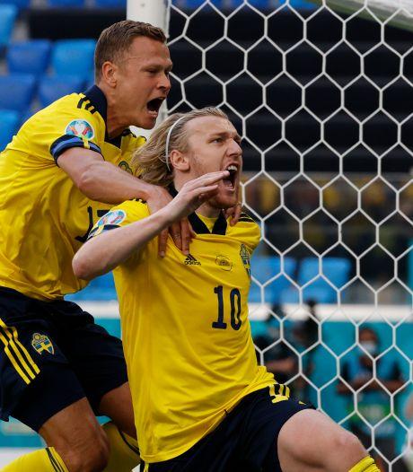 Un penalty et la Suède fait un pas vers les huitièmes de finale