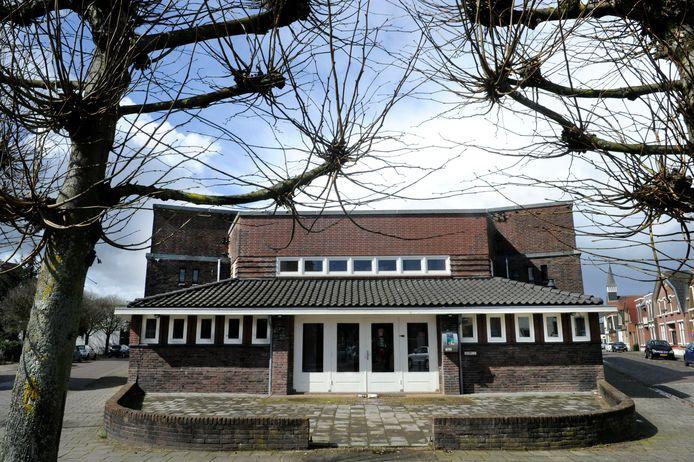 De voormalige Stork-bibliotheek aan de Vondelstraat.