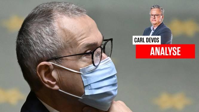 """Carl Devos: """"Naarmate de coronastolp gelicht wordt, normaliseert ook het politieke debat"""""""