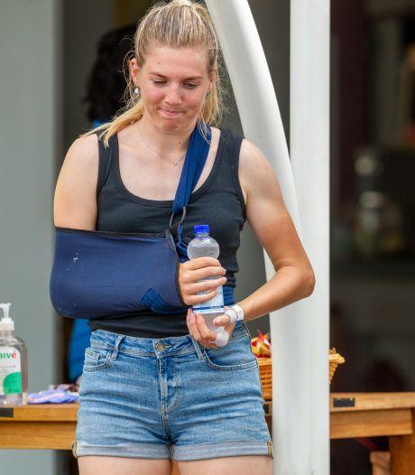 Elisa Dul uit Oene hoopt EK inlineskaten te halen na valpartij met racefiets