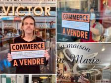 """""""Commerce à vendre"""", le cri d'alarme des commerçants liégeois"""
