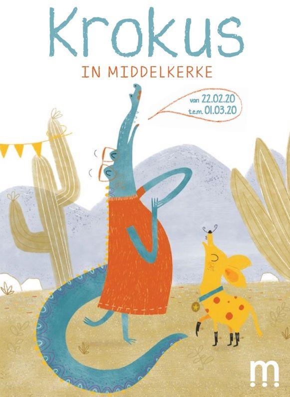 De krokusvakantie in Middelkerke wordt ingevuld door het figuurtje Miss Krokodil