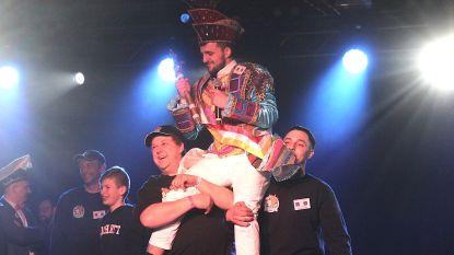 FOTO Bram Bassleer triomfeert in Arenprinsverkiezing