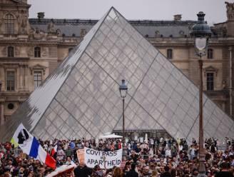 Opnieuw massaal protest tegen coronapas in Frankrijk