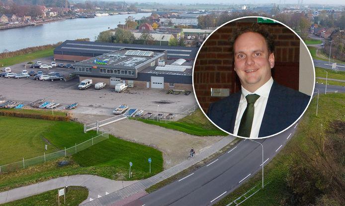 Wethouder Maarten Slingerland ligt onder vuur vanwegede inritkwestie in Hasselt.