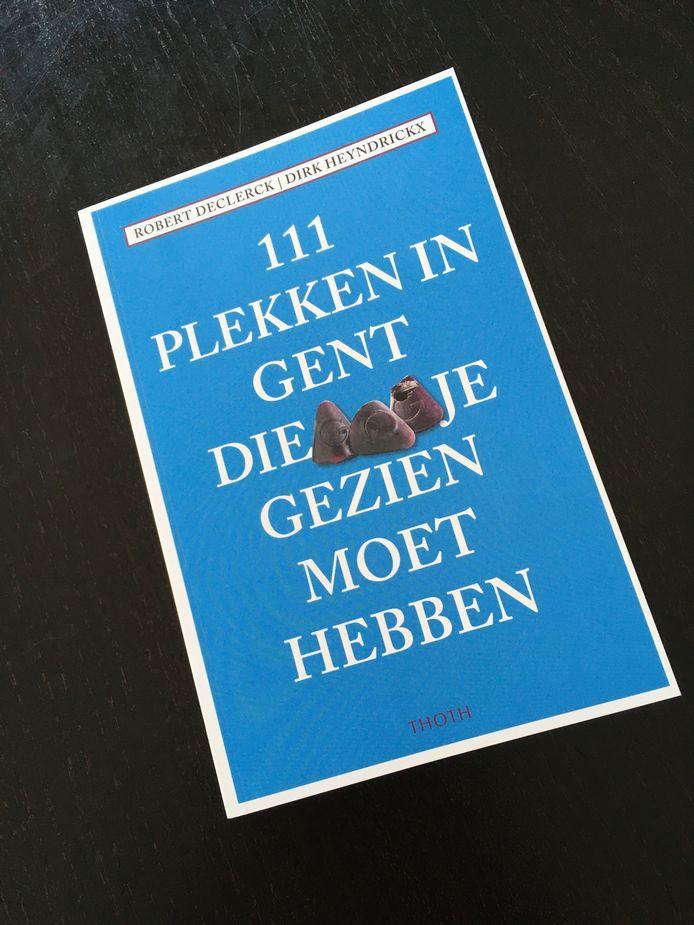 Voor elke stad in de 111-reeks van THOTH wordt een symbool gekozen. Voor Gent zijn dat.... de cuberdons.