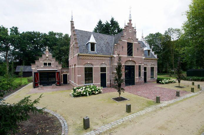 Het koetshuis van Zionsburg in Vught werd al eerder hersteld.