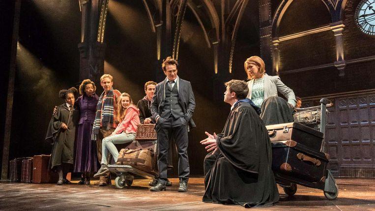 De cast van Harry Potter and the cursed Child. Beeld Manuel Harlan