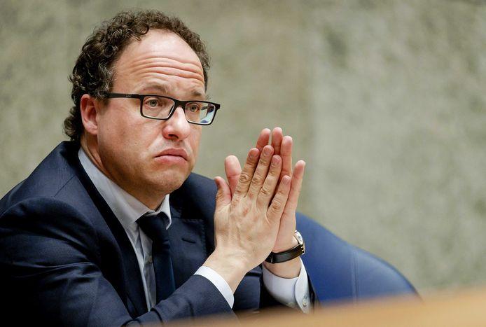 Minister Koolmees van Sociale Zaken en Werkgelegenheid tijdens het wekelijkse vragenuur in de Tweede Kamer.