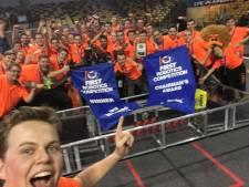 Veghelse studenten winnen robot-finale in Florida en stomen door naar WK