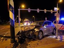 Man gewond bij aanrijding op N284 in Hapert