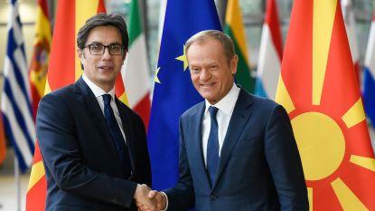 """President Noord-Macedonië teleurgesteld over beslissing EU, maar: """"Geen enkel besluit is eeuwig"""""""