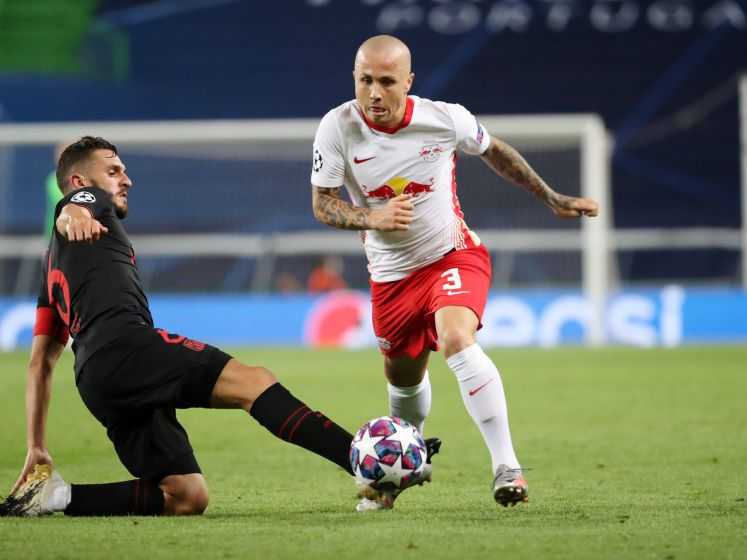 Assist Angeliño helpt RB Leipzig naar halve finale Champions League