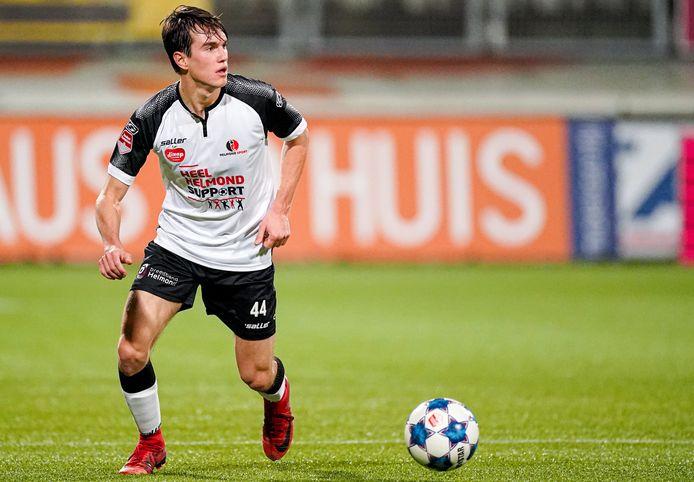 Boyd Reith is dit seizoen een vaste waarde als rechtsback bij Helmond Sport