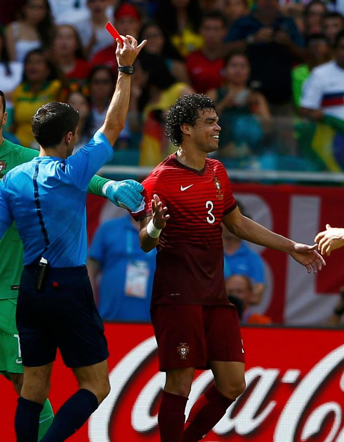 Pepe heeft 113 interlands voor Portugal op zijn naam staan.