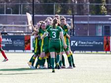 Vrouwenteam ADO Den Haag gaat wél tot het gaatje: 'Deze ploeg geeft nooit op'