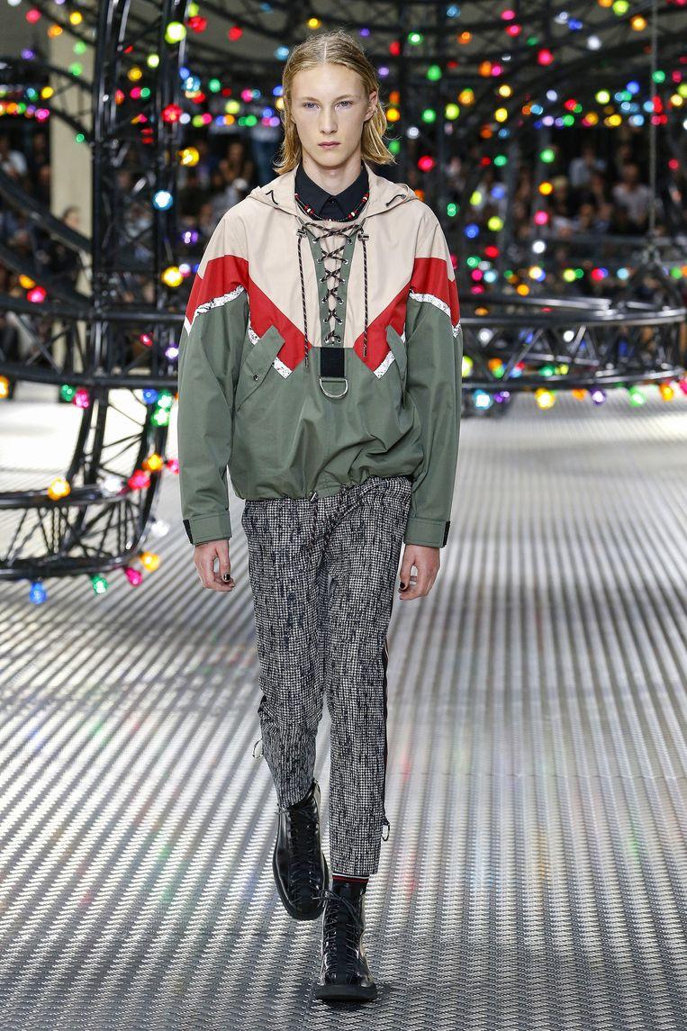 De anorak van Dior Homme. Beeld Team Peter Stigter
