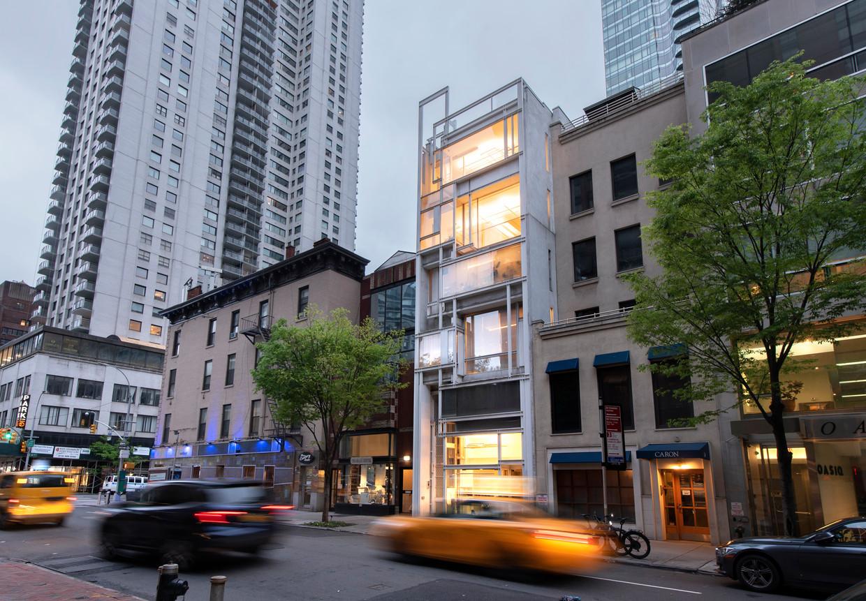 The Modulightor Building in New York. Beeld Els Zweerink