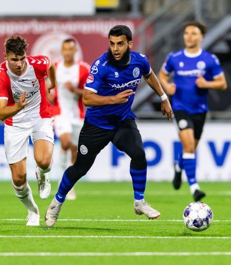 Soufyan Ahannach tekent voor de rest van dit seizoen bij FC Den Bosch