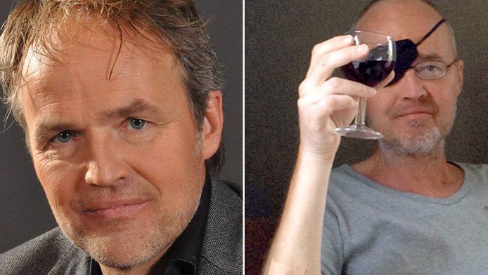 Links: Mark nog gezond, rechts: Mark vandaag.