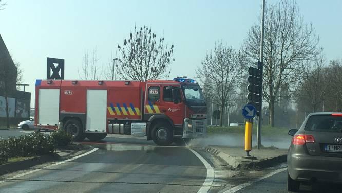 Betonspoor veroorzaakt file aan Rijselpoort in Ieper