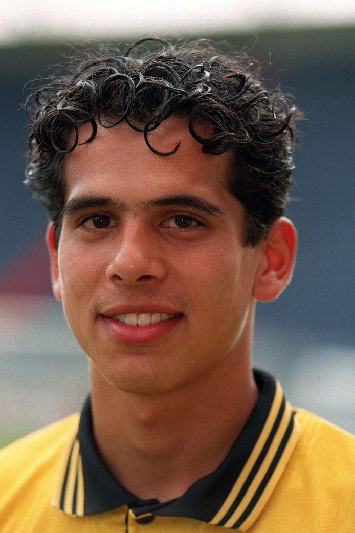 Langeveld als speler van NAC in het seizoen 1997/1998.