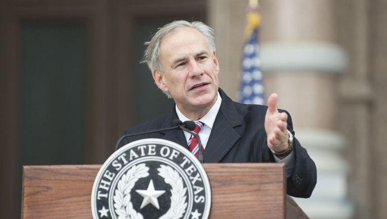 Gouverneur Greg Abbott van Texas. Beeld photo_news