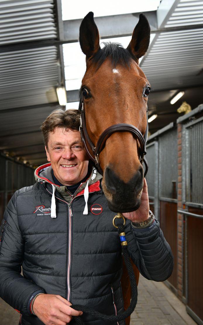 Jeroen Dubbeldam won de oefenwedstrijd in Lichtenvoorde.