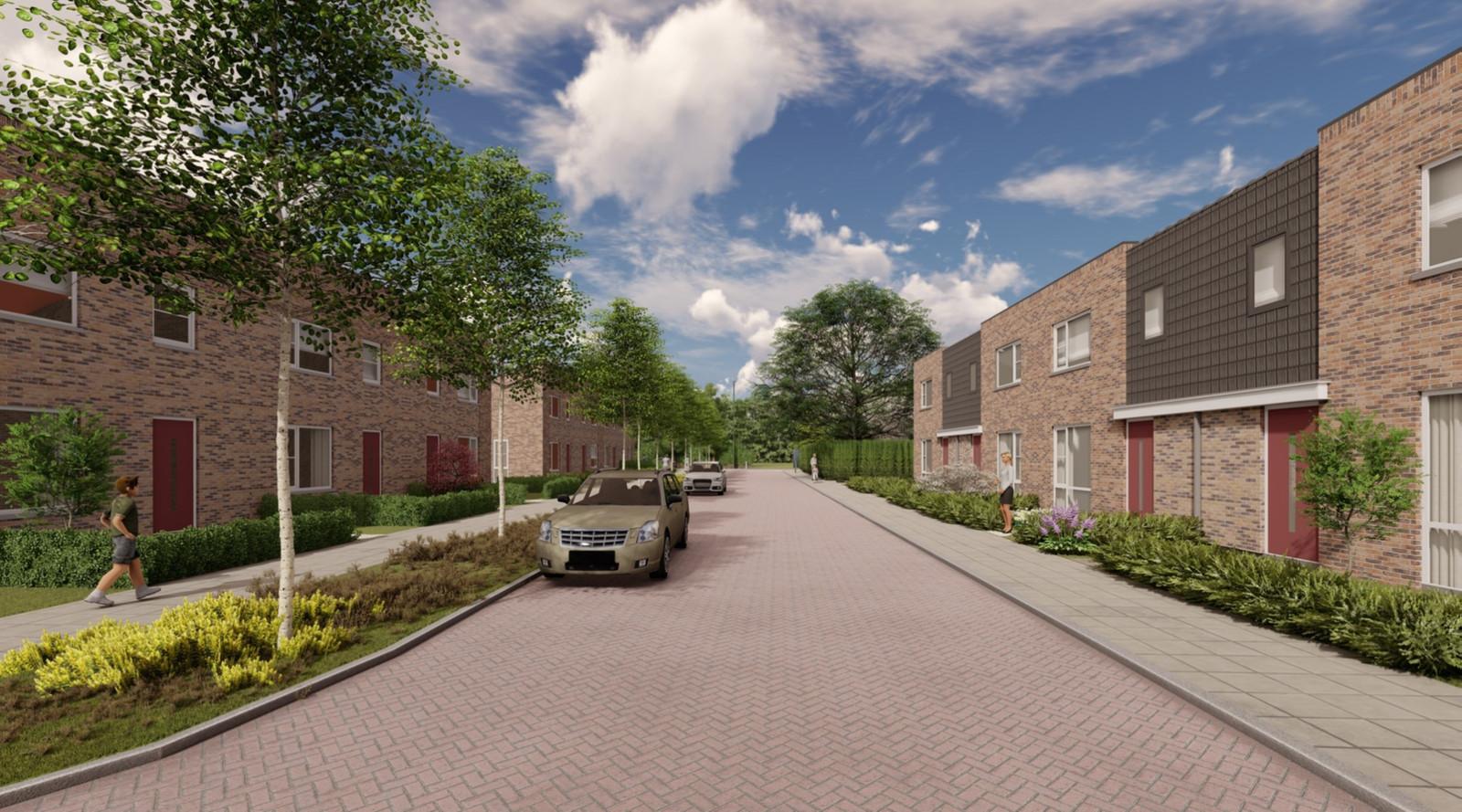 Woningcorporatie Zeeuwland bouwt 30 levensloopbestendige woningen aan de Deltastraat en de Van Hertsbekestraat in Bruinisse