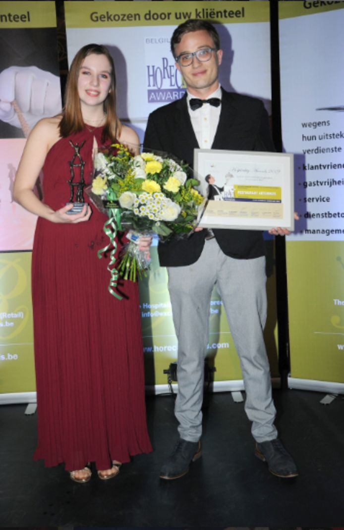Het Abtenhuis behaalde de eerste prijs 'Beste Personeelsteam'.