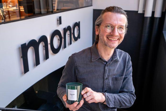 Stijn Pellegrims van Mo'na lanceert zijn eigen luxe aroma-label Augusta Aroma.