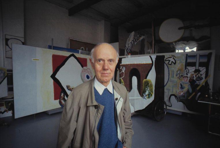 Roger Raveel Beeld Herman Selleslags