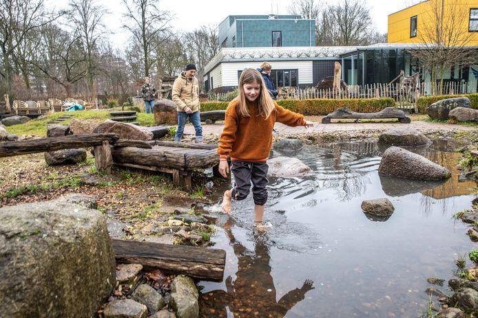 Vertier in Doepark Nooterhof, begin dit jaar.