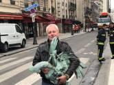 'Ongelooflijk, windhaan Notre-Dame teruggevonden in het puin'