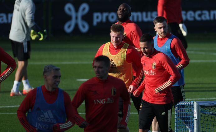 De Bruyne, Eden Hazard, Lukaku et... Saelemaekers sous le feu des projecteurs ce soir face à la France?