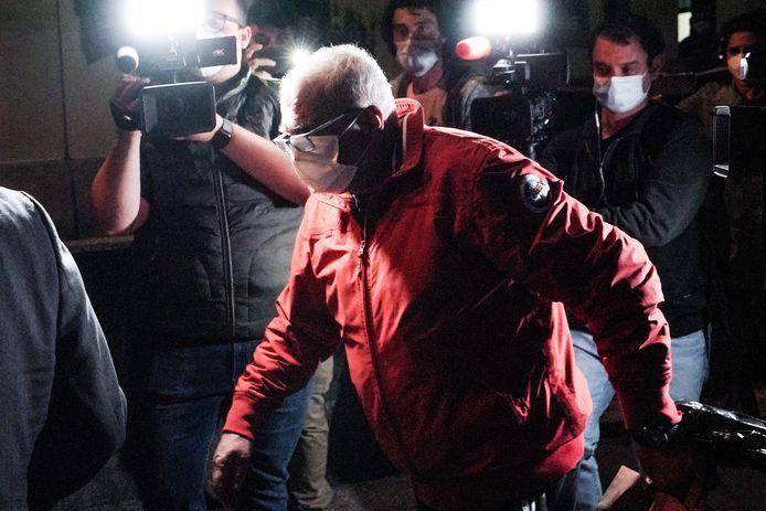 Een hoofdverdachte die verantwoordelijk wordt gehouden voor de kabelbaanramp op de berg Mottarone, verlaat de gevangenis. (29/05/2021)