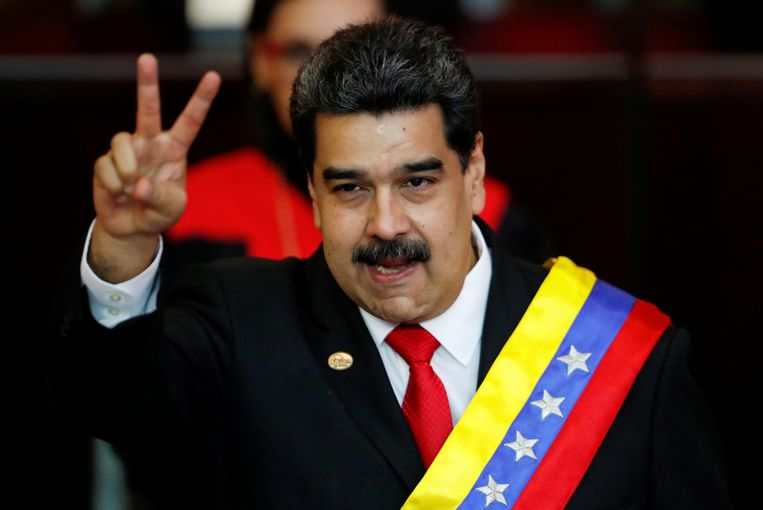 De Venezolaanse president Nicolás Maduro