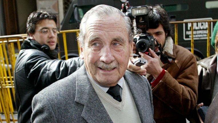 Gregorio Alvarez in 2006. Beeld REUTERS